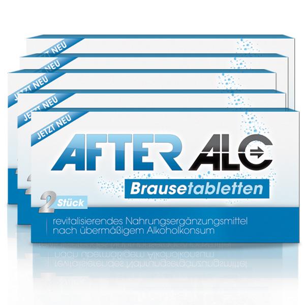 [afteralc.de] 10 Tabletten gegen Kater für 17,12€ (inkl. VSK)