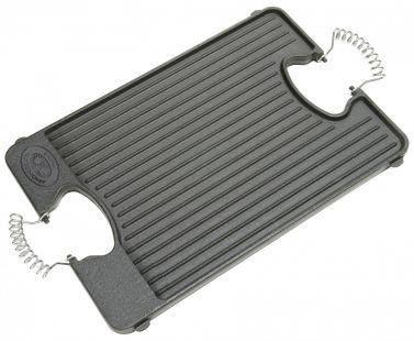 [Grillfuerst] Outdoorchef Grillplatte / Wendeplatte 44 x 29,5cm für 19,90€ + VSK 50% unter idealo