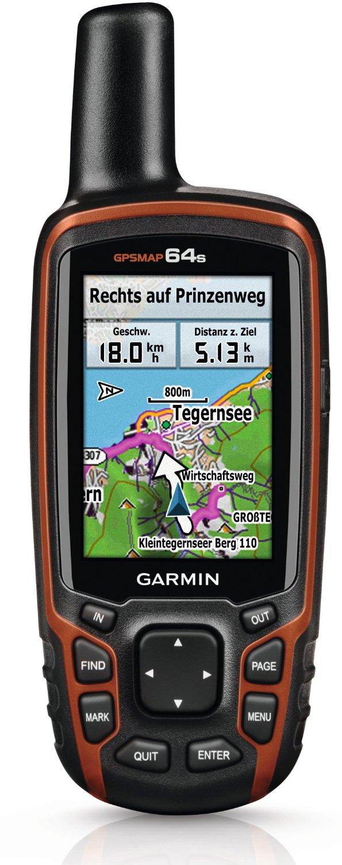(amazon) Garmin GPSMAP 64s Navigationshandgerät - 2,6x27x27-Farbdisplay, barometrischer Höhenmesser, Live Tracking