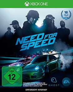 Need for Speed - Xbox One CD Idealo:30,79 € [Amazon]