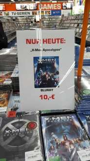 [Saturn Mall of Berlin] Nur Heute - X-Men Apocalypse BLU-RAY - 10 EUR