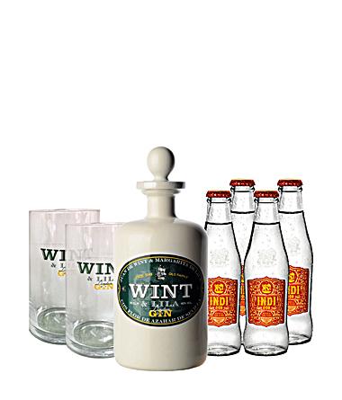Wint&Lila 0,7l Gin + 4x Indi Tonic + 2 Gläser für 37,90€ (Neukunden 35,40€)