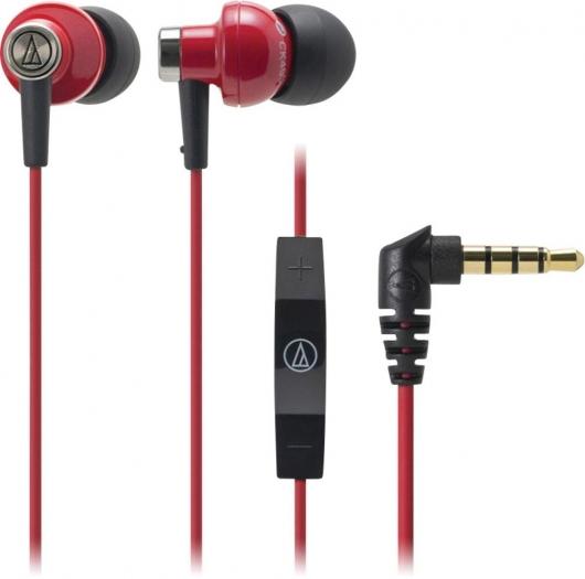 [@voelkner] Audio Technica HiFi Kopfhörer In Ear Rot