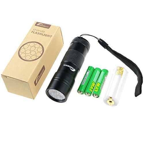 Moobom Taschenlampe mit UV-Licht / Schwarzlicht