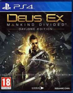 PS4 Deus Ex: Mankind Divided D1 Edition (AT-PEGI)