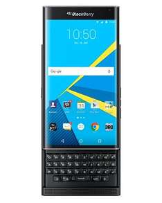 BlackBerry Priv STV100-4 Slider Smartphone QWERTZ 5,4 Zoll Dual Curve Display, 3410 mAh Akku [BlackBerry Store]