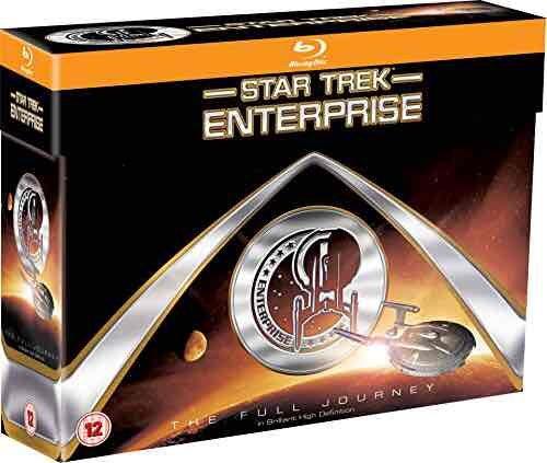 Star Trek Enterprise FullJourney 1-4 BluRay Box für 48,7 € @Amazon.co.uk