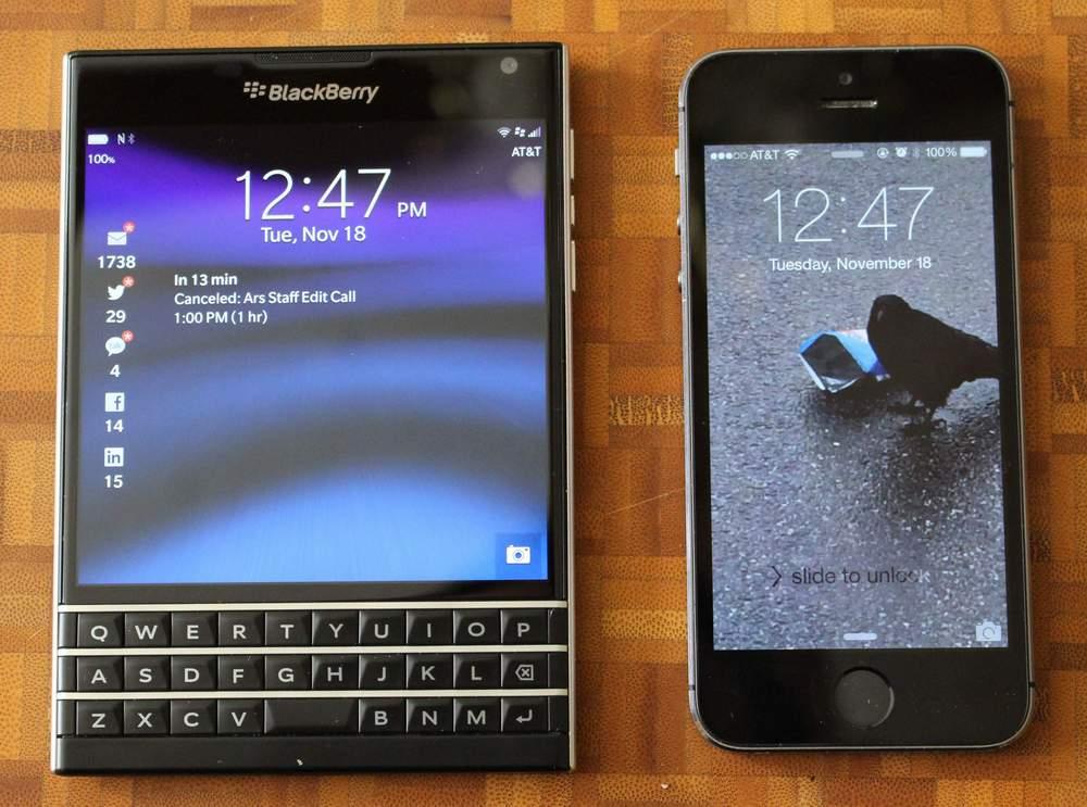 Blackberry Passport NEU zum bisher besten Preis das beste Phone mit BBOS10