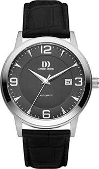 Danish Design Automatik-Uhr, 42 mm, Saphirglas, Lederarmband bei [Amazon]