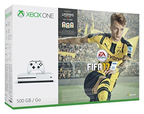 Xbox One S FIFA 17 Bundle (500GB) [amazon.co.uk]