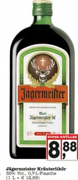 [Edeka] Jägermeister 0,7l 8,88€ ab 26.09.