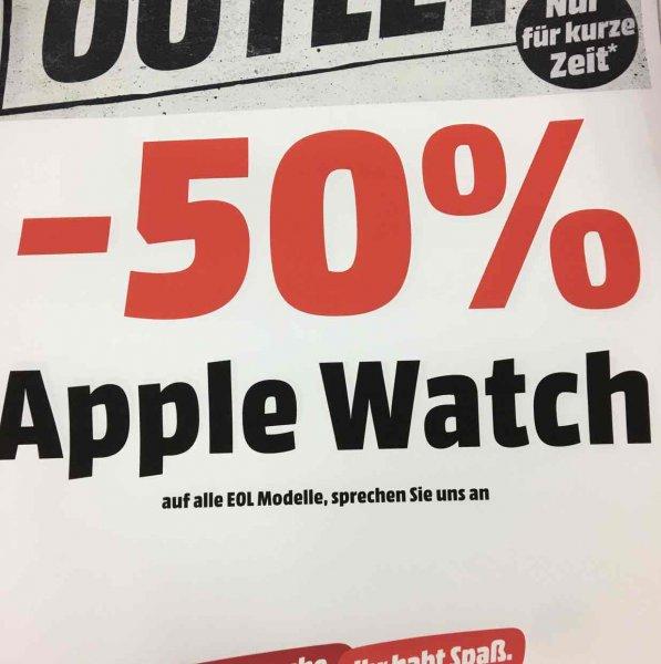 [Lokal Bremen/Stuhr] alle alten Apple Watch Modelle 50% reduziert (keine Sport mehr)