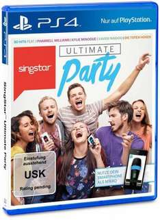 [Lokal] Singstar Ultimate Party Ps4 @ Mediamarkt Bonn City