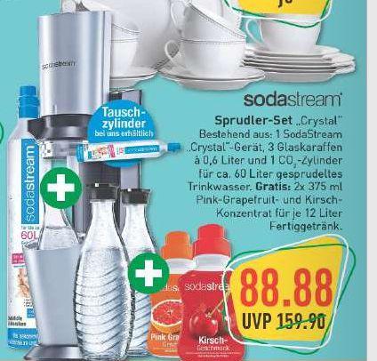 [Marktkauf NRW / Rhein-Ruhr] Soda Stream Crystal Super Spar Pack für 88,88 €