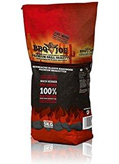 BBQ JOE Best American Quebracho Blanco Premium Hartholz Briketts 5 kg