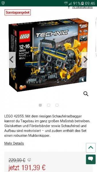 Lego Technic Schaufelradbagger