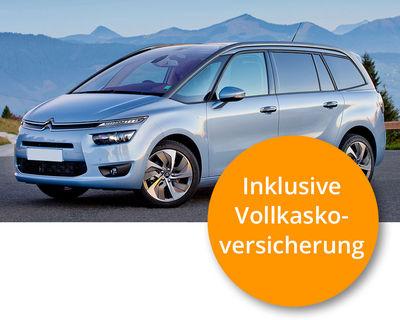 Citroen Grand C4 Diesel Komplett-Leasing (inkl. Versicherung, Steuer, Wartung etc.) monatlich 299,-