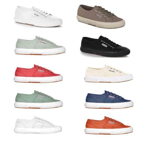 SUPERGA Sneaker mit -50% Rabatt verschiedene Farben und Größen [WIEDER DA UND 5 € GÜNSTIGER]