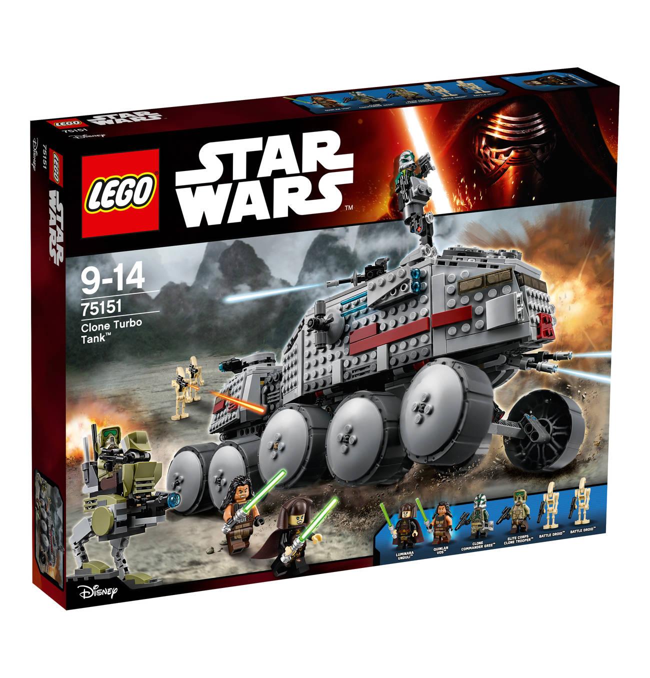 [Galeria Kaufhof] Sonntagsangebote z.B. Lego Star Wars Clone Turbo Tank 75151 oder Lego Technic Schwerlasthubschrauber 42052 für 69 EUR statt 81