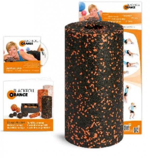 Blackroll Orange inkl. DVD, Poster und Booklet für 22,99 € [Amazon Tagesangebot]