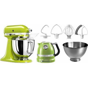 Kitchenaid Artisan Küchenmaschine und Wasserkocher