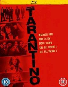 (Zavvi) Quentin Tarantino Box Set Blu-ray und DVD OT z.T. deutsch