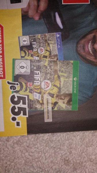 Fifa 17 Xbox one / PS4 Lokal Brilon 55€