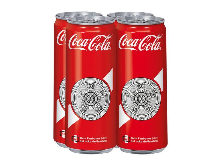4er CocaCola-Dosen 1,39 +Pfand bei LIDL ab 26.9.
