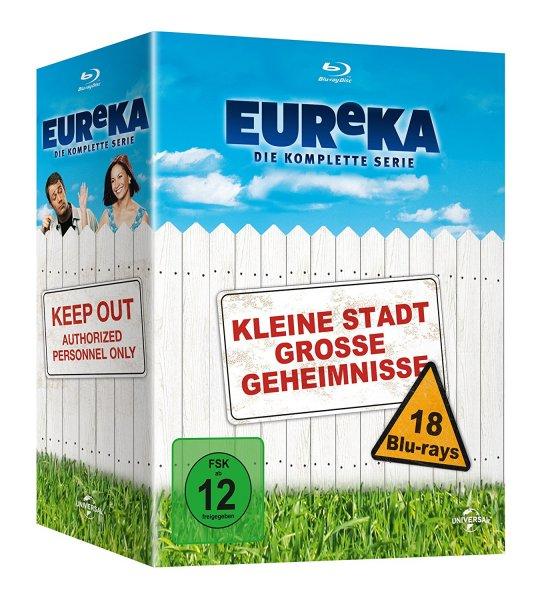 (Amazon) EUReKA: Die komplette Serie [18 Blu-rays] für 34,97€