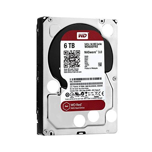 Western Digital Red SATA III 6TB (WD60EFRX) Festplatte für 74,35 EUR