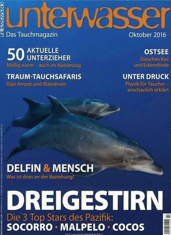 """""""unterwasser"""" Magazin im Halbjahresabo für 4,67€ erhalten durch Payback + Gutschein"""