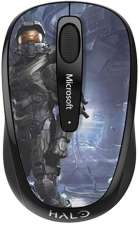 (Digitalo) Microsoft Funk-Maus BlueTrack Wireless Mobile Mouse 3500 Halo Limited Edition: The Master Chief Sc Sc