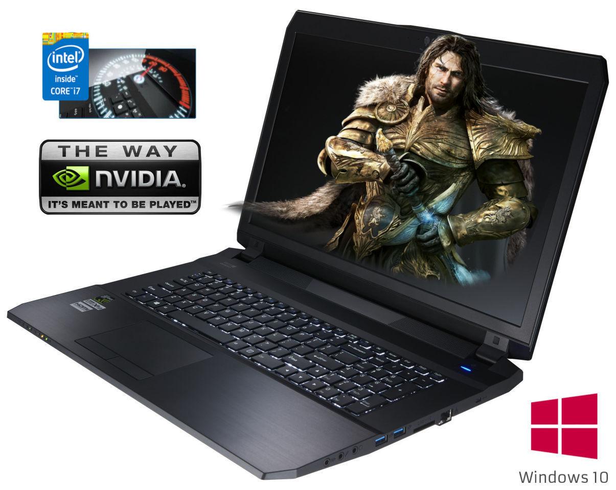 [CEG] Clevo 670SA Gaming Notebook . I7 4720HQ 8GB RAM GTX965M 17ZOLL 703,29