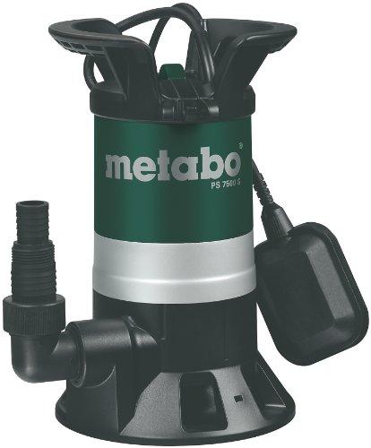 Amazon Italien: Metabo Tauchpumpe PS7500S, 450W, per Visacard, Idealo 94,91 €