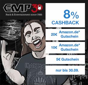 (Shoop) EMP: 8% Cashback + 5,00€ Gutschein mit 30€ MBW + 10€/20€ Amazon-Gutschein (29/49€ MBW)