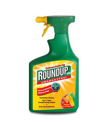 1l Roundup Alphee -18% bei 2l -30%