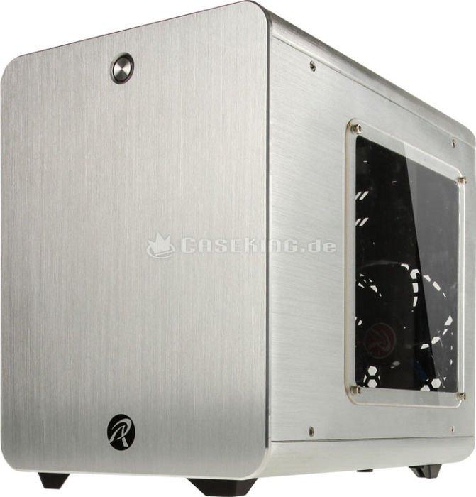 Raijintek Metis PC-Gehäuse mit Sichtfenster (mini-ITX) für 49,46€ [Drive City = Mindfactory]