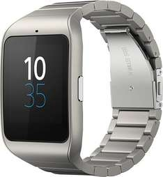Sony Smartwatch 3 Metall - GPS Android Wear