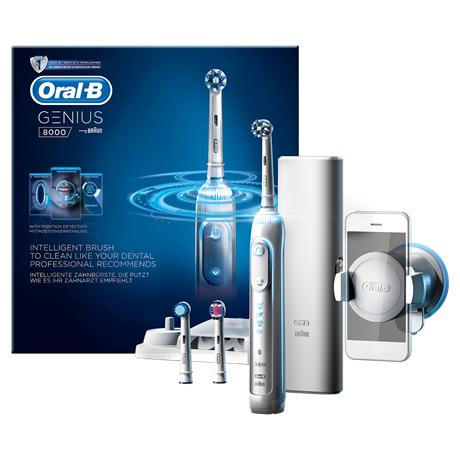 Oral-B Genius 8000 elektrische Zahnbürste mit 50€ Cashback