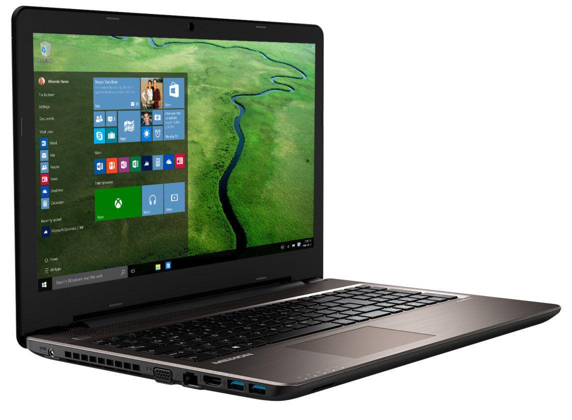 Medion E6424 mit Core i5-6267U, Iris 550 Grafik, 128GB SSD & 1TB HDD, 15,6 Zoll Full-HD IPS, 6GB RAM, Win 10 [B-Ware]