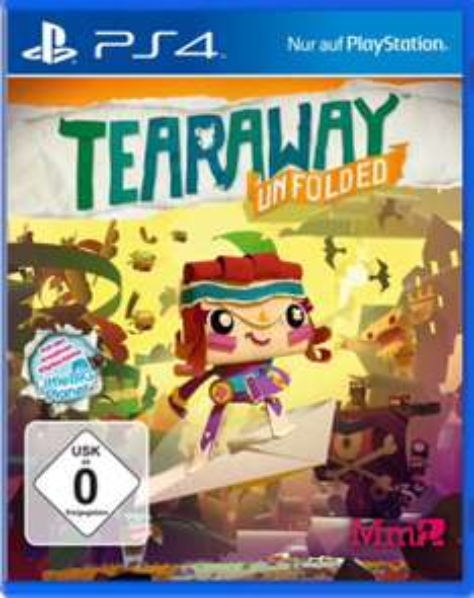 [Lokal Media Markt Hückelhoven] PS4 Tearaway Unfolded nur 5€