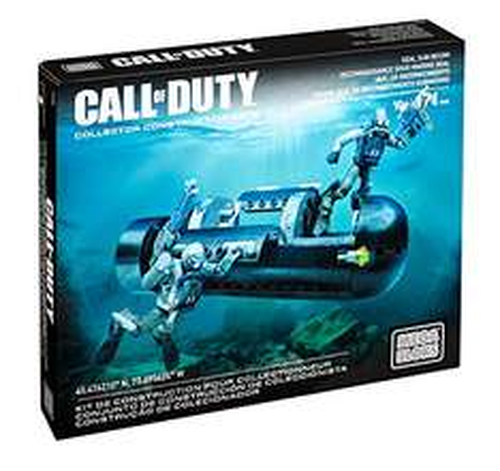 Mattel Mega Bloks CNG80 - Call Of Duty - Seal Sub Recon Bau und Konstruktionsspielzeug 50 Minuten noch