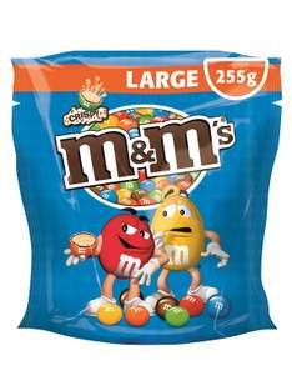 5x 300g M&Ms Choco / Peanut & 5x 255g M&Ms Crispy für je 11,10€ [Amazon Prime]
