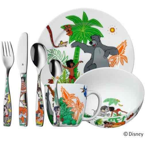 wmf Kinder-set Dschungelbuch 7-teilig für 29,95€ anstatt 49,95€ auf WMF.com