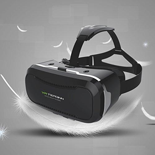 3D VR Brille (2. Version; größerer Weitwinkel und Nutzbarkeit mit Brillen)