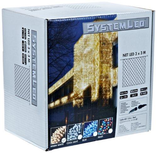 System LED 465-16-33 Net LED 300 x 300 cm Extra, warmweiß