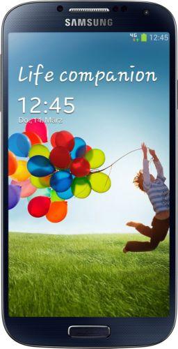 Samsung Galaxy S4 SchwarzSmartphone 25% unter idealo