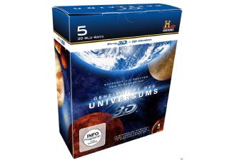Geheimnisse des Universums Box - 5x Blu-ray, 3D und 2D - 19 Euro [mediamarkt.de]