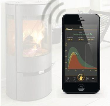 Aduro Smart Response - Box zur Verbindung eures Kaminofens mit dem Smartphone/Tablet