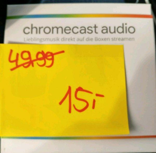 (Lokal) MediaMarkt Itzehoe Lagerverkauf Chromecast Audio